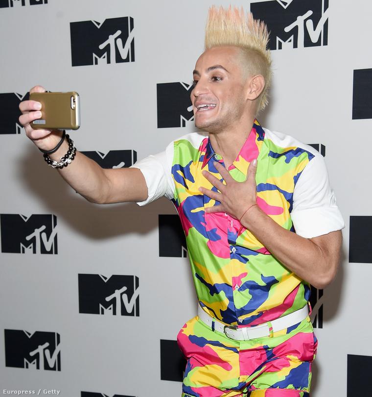 Az MTV egy rendezvényén áprilisban