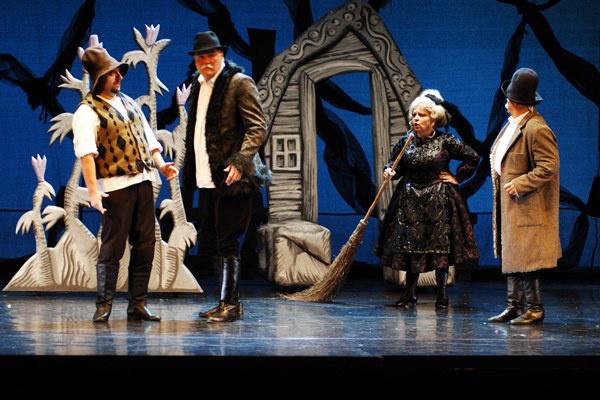 Szökevény csillagok (Fotó: Veréb Simon, forrás: Szegedi Nemzeti Színház)