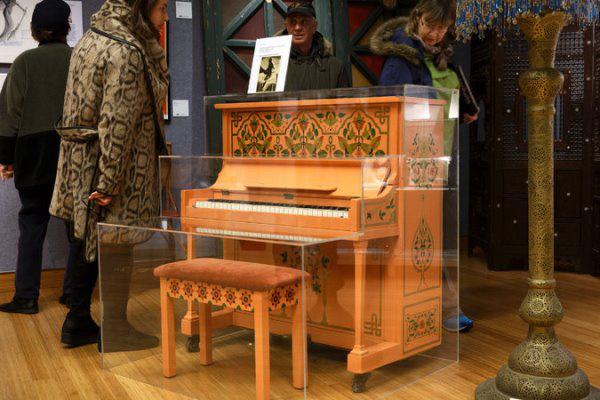 A zongora Rick kávézójából (Fotó: Richard Perry, The New York Times)