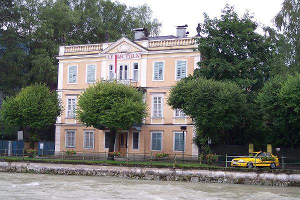 A Lehár Villa Bad Ischl-ben (Forrás: Wikipedia)