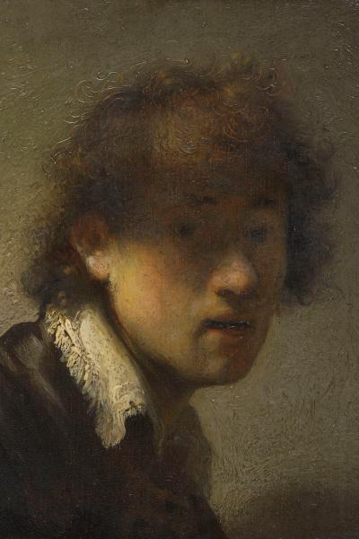 Rembrandt: Önarckép