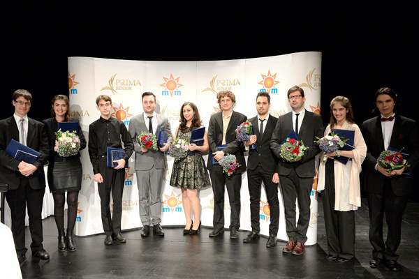 Junior Prima-díj Zeneművészet kategória 2014 - Díjazottak