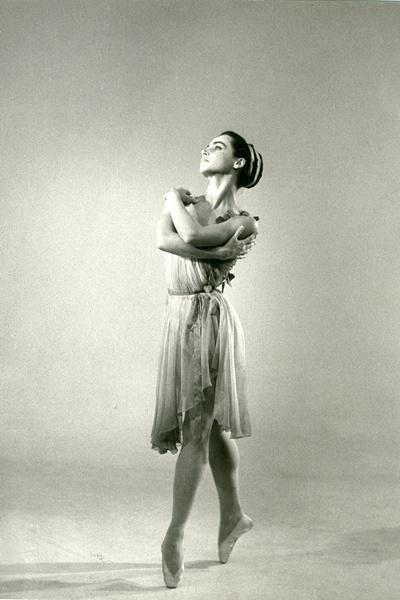 Kun Zsuzsa a Tavaszi áradásban, 1963-ban (Forrás: Magyar Állami Operaház archívuma)