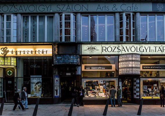 Színházak éjszakája 2014 - Rózsavölgyi Szalon