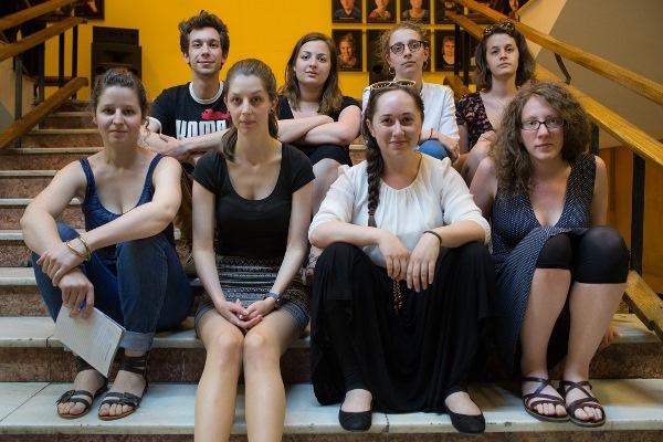 Színházi dramaturg hallgatók