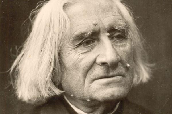 Liszt Ferenc időskori portréja