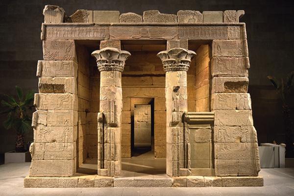 Dendur szentély - Gallery 131 - New York-i Metropolitan Múzeum