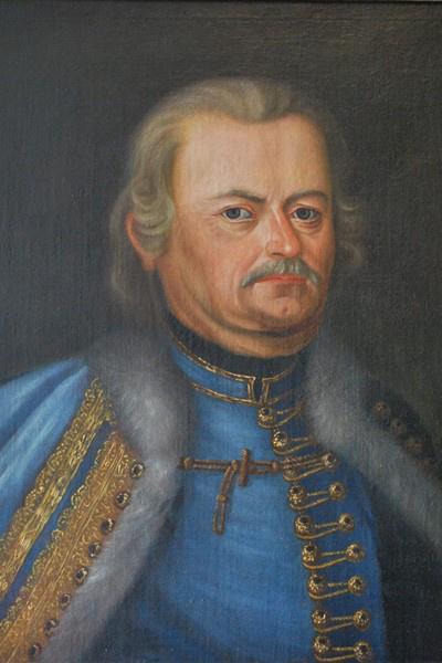 A báji Patay Sámuel (Forrás: Nemzeti Portrétár)