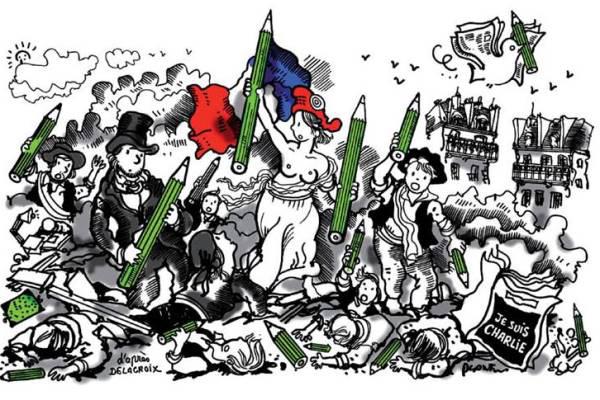 JeSuisCharlie kiállítás, Francia Intézet (Forrás: Francia Intézet)