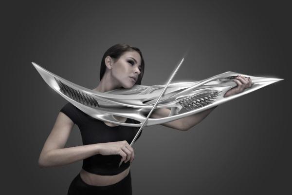 Piezoelectric-hegedű