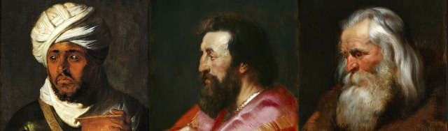 Rubens három napkeleti bölcse (Forrás: National Gallery of Art, Washington)