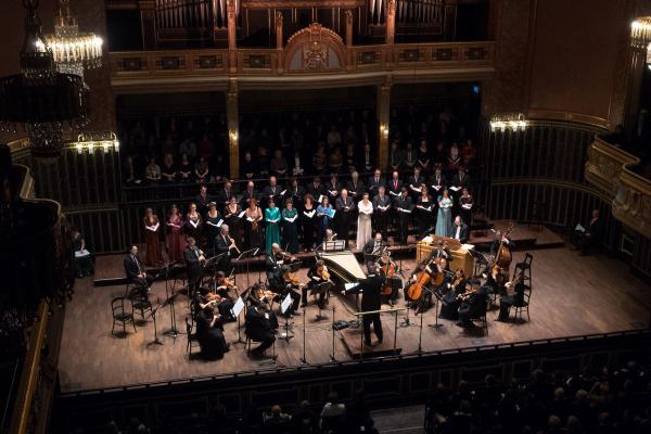 Purcell Kórus és az Orfeo Zenekar