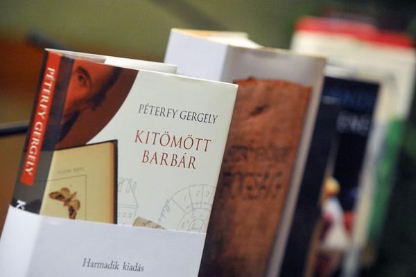 Aegon-díjas kötetek