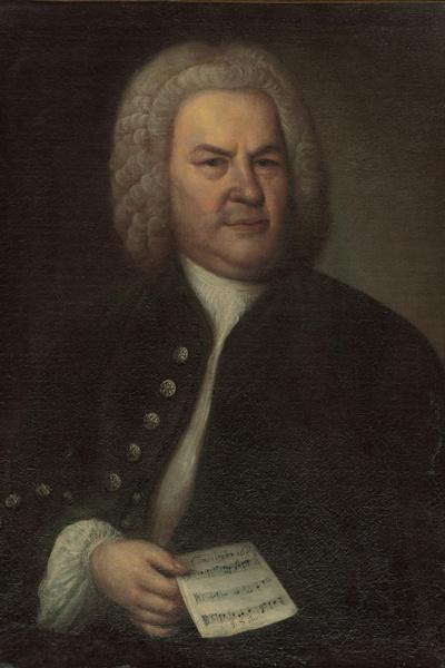 Elias Gottlob Haussmann: Johann Sebastian Bach, 1746 (Forrás: Wikipédia)