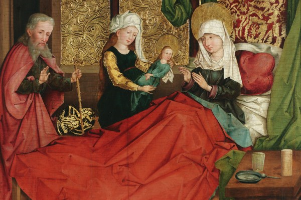 The Nativity of the Virgin,1490