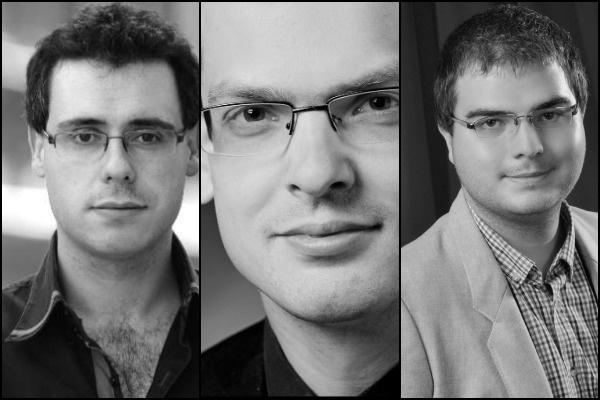 Zombola Péter, Horváth Márton Levente és Pintér Bence