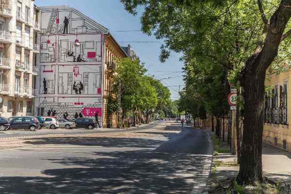 Színes Város - Krisztina körút 30. (Fotó: Farkas András)