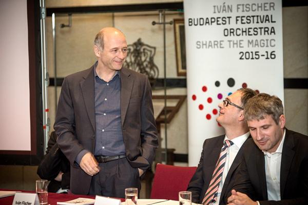 Fischer Iván, Káel Csaba és Stefan Englert
