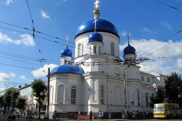 Szent Mihály-templom, ZsitomirRichter keresztelésének helye.