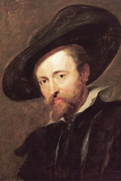 Peter Paul Rubens: Önarckép