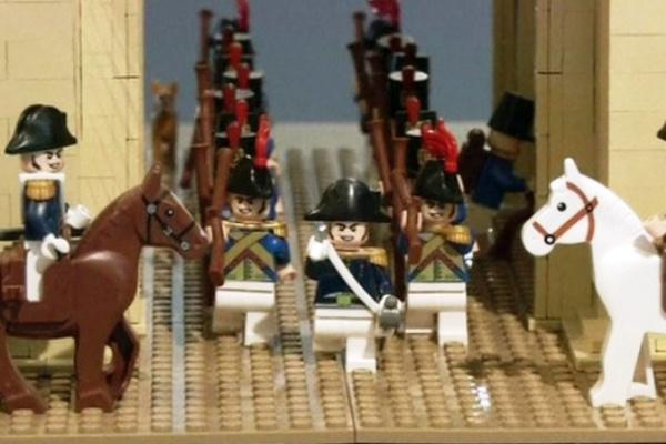 Napoleon legóból