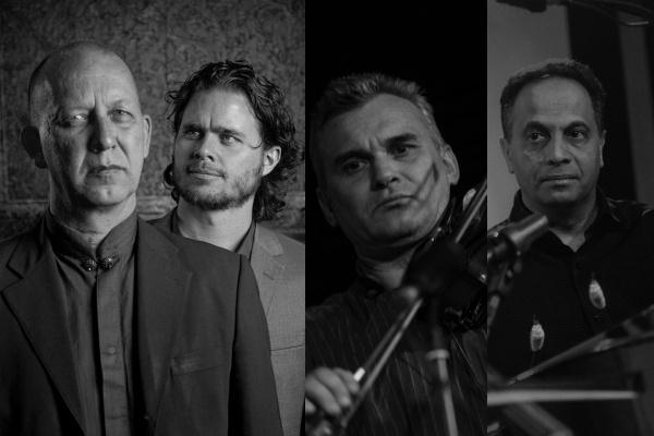 Ernst Reijseger, Harmen Fraanje, Kovács Ferenc, Balogh Kálmán