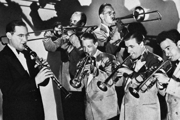 Benny Goodman bandájával