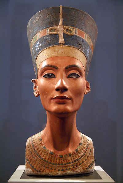 Nofertiti szobor