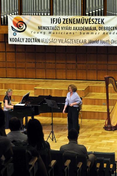 Ifjú Zeneművészek Nemzetközi Nyári Akadémiája - Debrecen