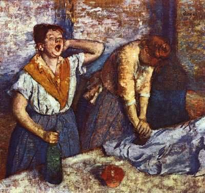 Degas: Vasalónők (1884)