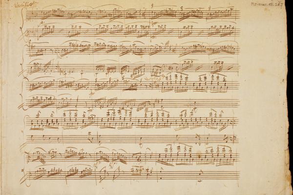 Mozart A-dúr szonáta (K. 331) 1. oldal