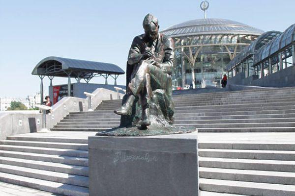 Sosztakovics-emlékmű Moszkvában