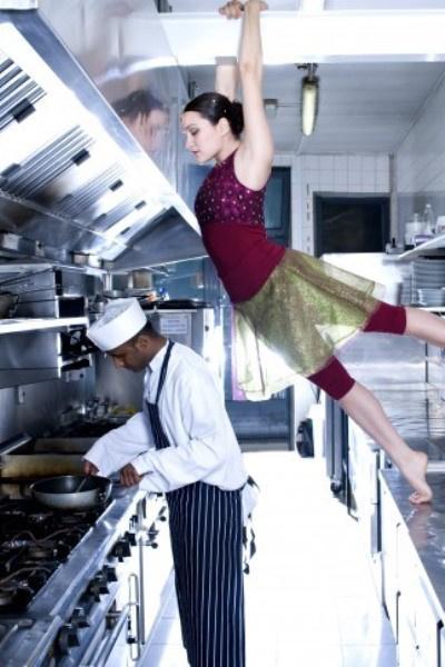 balerina a konyhában
