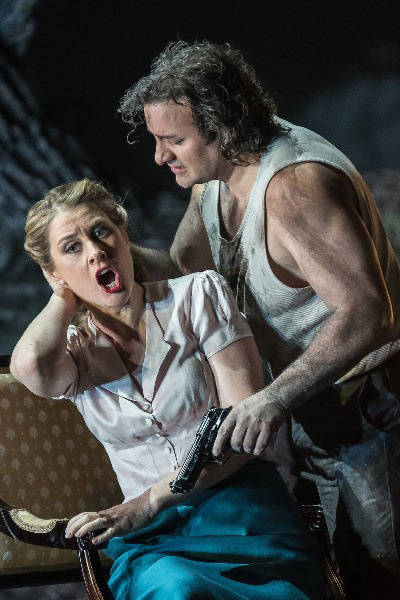 Tell Vilmos - John Osborn és Malin Bysrom (Fotó: Clive Barda, Royal Opera House)