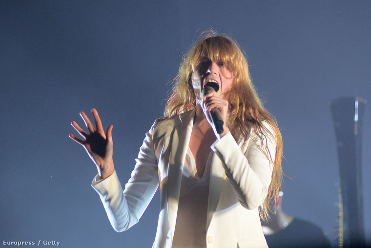 Florence Welch a Florence + the Machine-ből