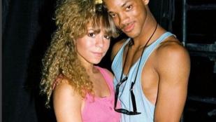 Kitalálja, mikor ölelkezett így Mariah Carey és Will Smith?
