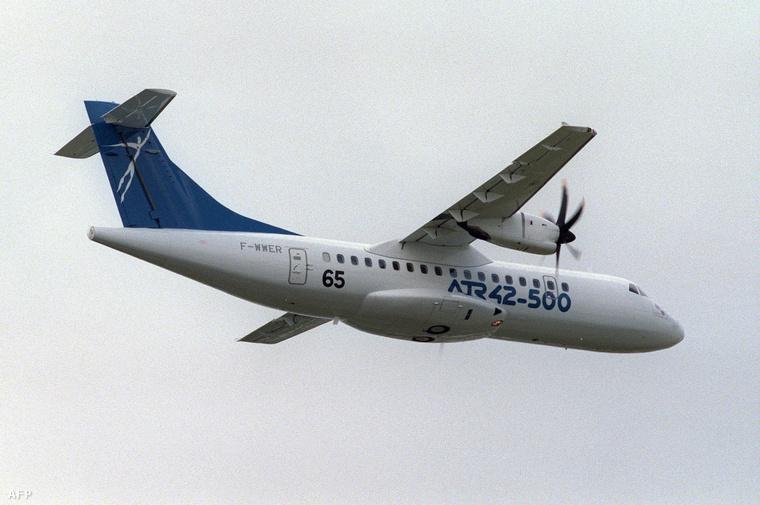 Egy ATR 42-es