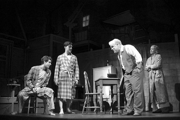 Philip Seymour Hoffman Az ügynök halála c. előadásban a Broadway színpadán