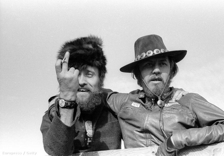 A Hells Angels tagjai '69-ben mutattak be a fotósnak