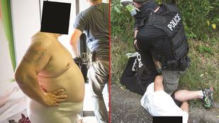 A rendőrségi fotósok most önmagukat is felülmúlták!
