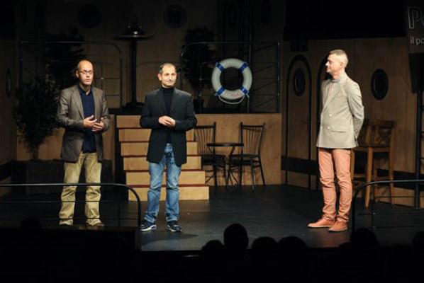 Patrick Laviosa a Pinceszínház színpadán