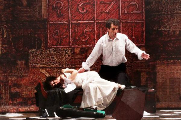 A kékszakállú herceg vára - előadás az Erkel Színházban
