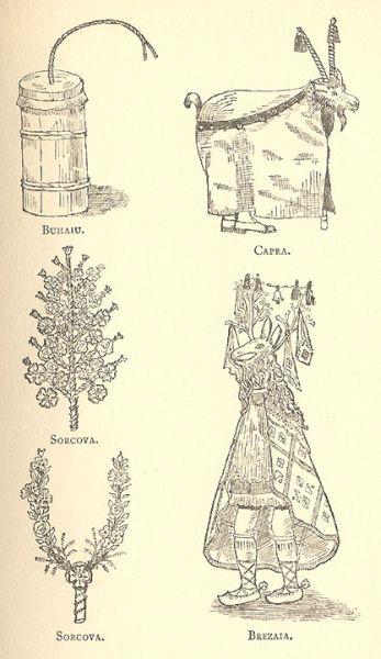Turka és kolinda - illusztráció