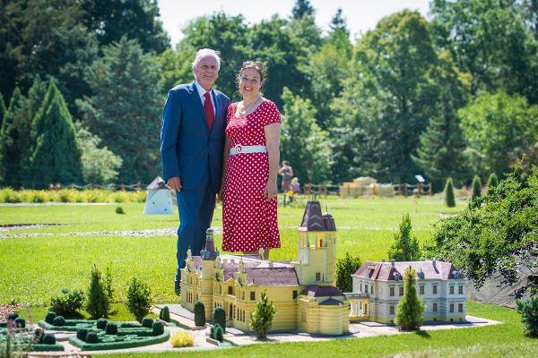 gróf Wenckheim László és felesége, gróf Csáky Ilona