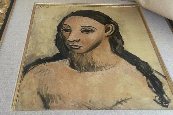 Picasso - Fiatal lány feje
