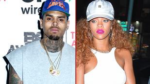 Rihanna újra összejöhetett az őt összeverő exével