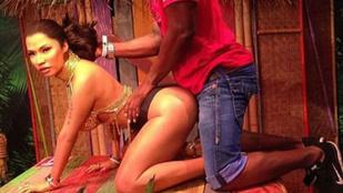Nicki Minaj pucsító viaszszobrát mindenki megpocsékolja
