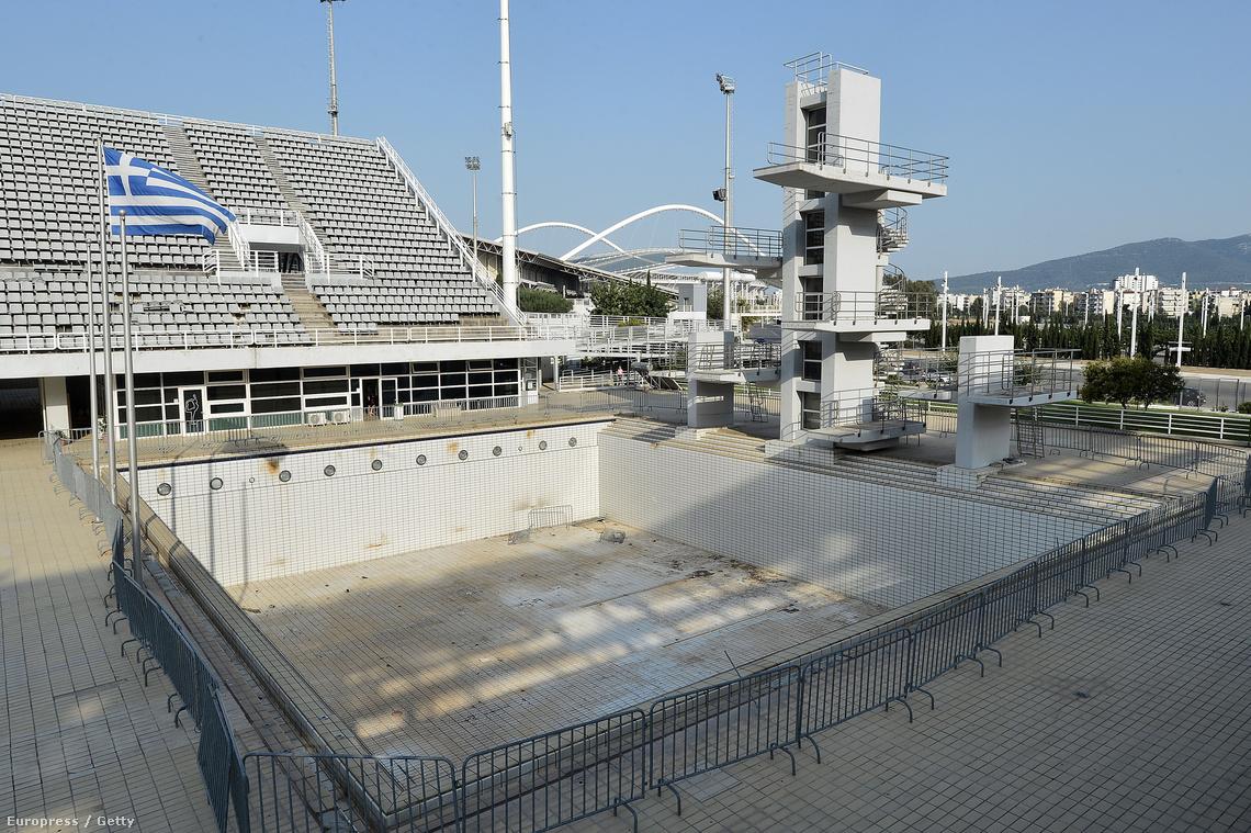 Az egyik stadion az olimpiai parkban