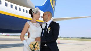 Hetente repül Pestre ez az olasz férfi magyar szerelméhez