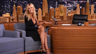 Heidi Klum dekoltázsával nem lehet betelni